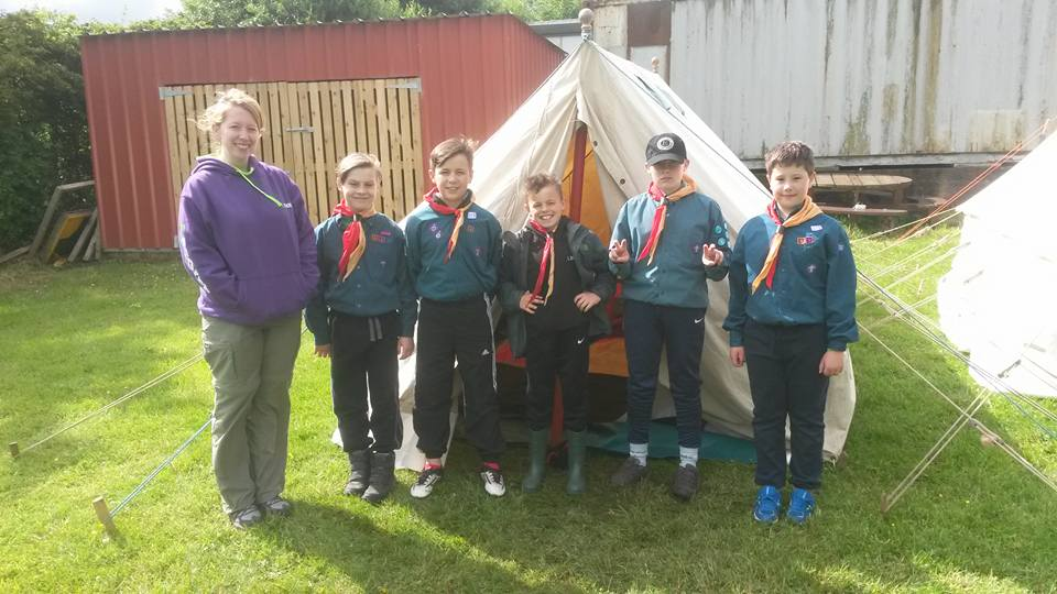 Scouts action photo